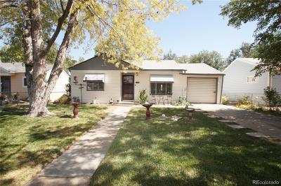 Aurora CO Single Family Home Active: $255,000