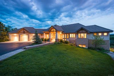 Castle Rock Single Family Home Under Contract: 44 Hier Lane