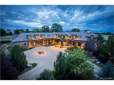 Boulder Single Family Home Active: 8932 Mountain View Lane