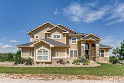 Castle Rock Single Family Home Under Contract: 3185 Nellies Way