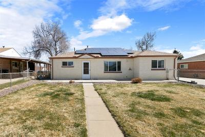 Thornton Single Family Home Under Contract: 9380 Cedar Court