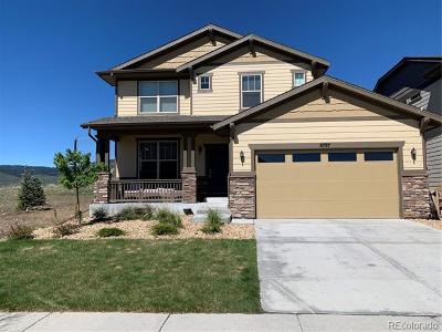 Arvada Single Family Home Active: 8787 Gore Street