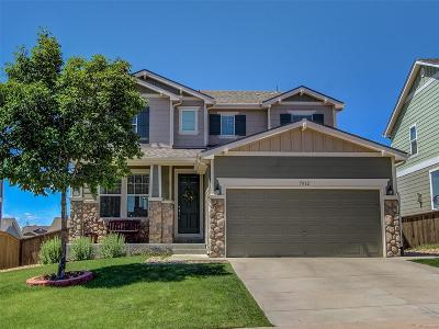 Castle Rock Single Family Home Under Contract: 5882 Raleigh Circle