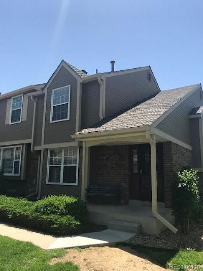Centennial Condo/Townhouse Under Contract: 7240 East Bentley Circle