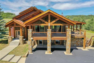 Steamboat Springs Single Family Home Active: 32405 County Road 35