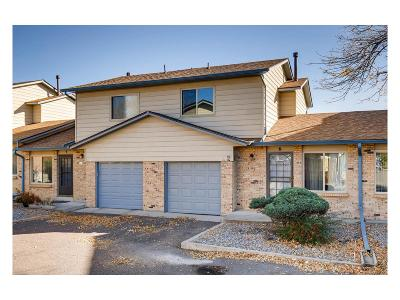Arvada Condo/Townhouse Under Contract: 5260 Garrison Street #6