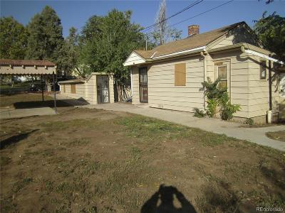 Denver Single Family Home Active: 4986 Sherman Street