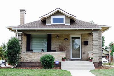 Denver Single Family Home Active: 3101 North Vine Street