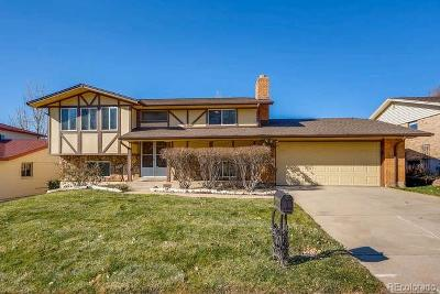 Denver Single Family Home Active: 4721 South Xenia Street
