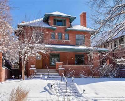 Denver Single Family Home Under Contract: 824 Vine Street