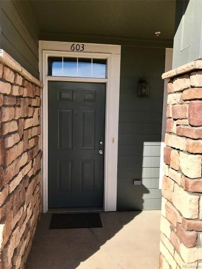 Castle Rock Condo/Townhouse Active: 452 Black Feather Loop #603