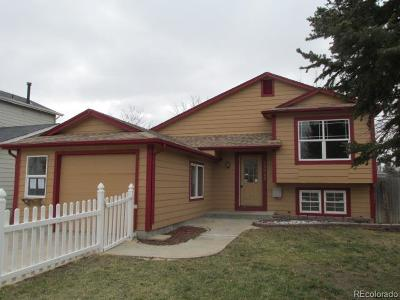 Aurora, Denver Single Family Home Under Contract: 18942 East Carmel Circle