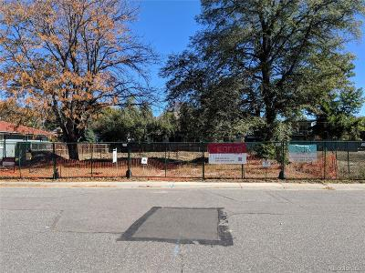 Denver Residential Lots & Land Active: 164 South Fairfax Street