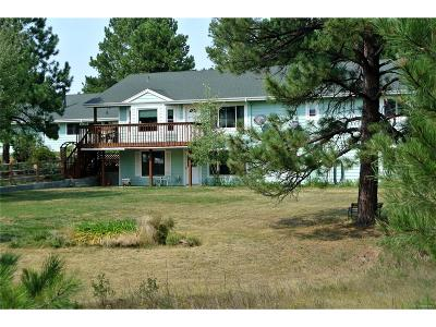 Kiowa CO Single Family Home Under Contract: $468,000