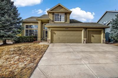 Castle Rock Single Family Home Active: 4389 Bobolink Drive