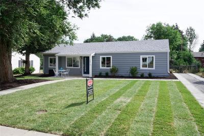 Denver Single Family Home Active: 2876 South Fairfax