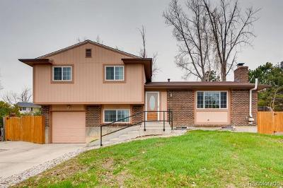 Aurora Single Family Home Active: 2863 South Biscay Court
