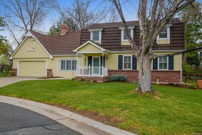 Littleton Single Family Home Active: 4959 West Fair Place