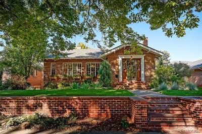 Denver Single Family Home Active: 547 South Corona Street
