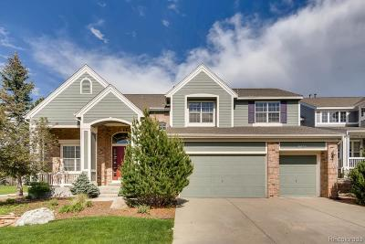 Castle Pines CO Single Family Home Under Contract: $635,000