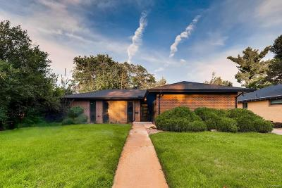 Denver Single Family Home Under Contract: 376 Holly Street