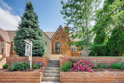 Denver Single Family Home Active: 3318 West 34th Avenue