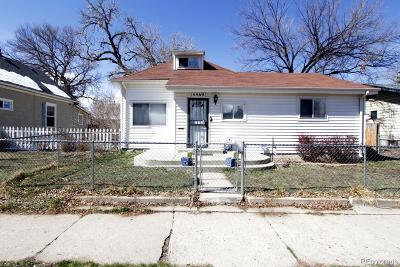 Denver Single Family Home Active: 4469 Perry Street