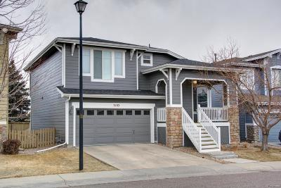 Highlands Ranch Firelight Single Family Home Under Contract: 3193 Green Haven Circle
