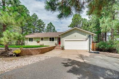 Franktown Single Family Home Active: 10900 Tomichi Drive