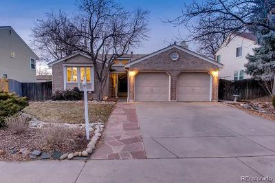 Arapahoe County Single Family Home Active: 14937 East Wagontrail Place