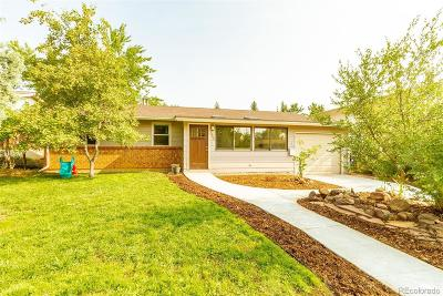 Boulder CO Single Family Home Active: $765,000