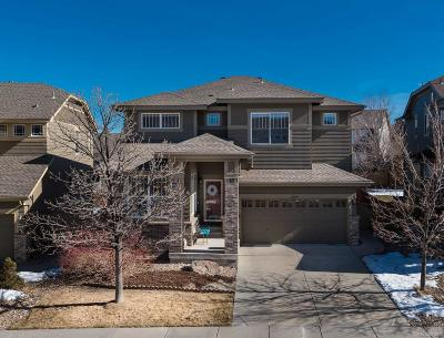 Highlands Ranch Single Family Home Under Contract: 10579 Wagon Box Circle