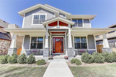 Denver Single Family Home Active: 1709 South Lafayette Street