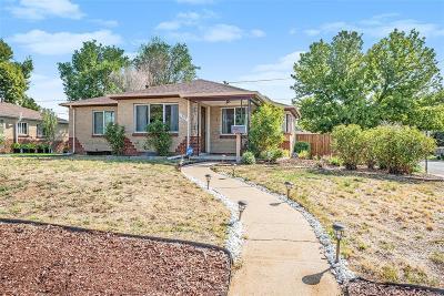 Denver Single Family Home Active: 3500 Niagara Street