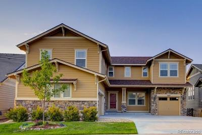 Castle Rock Single Family Home Under Contract: 5215 Gould Circle