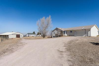 Elbert County Single Family Home Under Contract: 44451 Lariat Trail