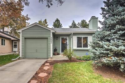Arvada Single Family Home Under Contract: 5693 West 76th Drive