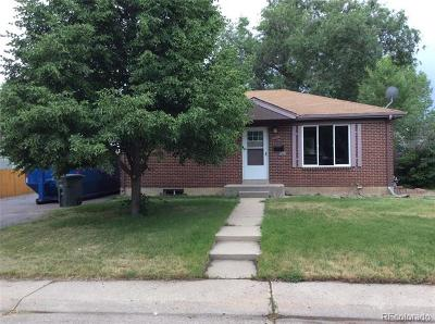 Northglenn Single Family Home Active: 1846 East 113th Place