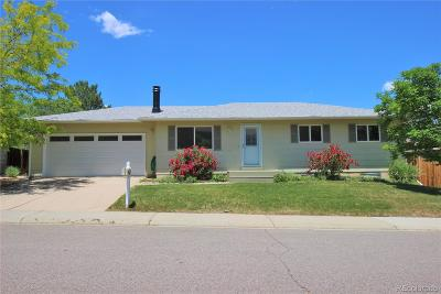 Centennial Single Family Home Under Contract: 5009 East Peakview Avenue