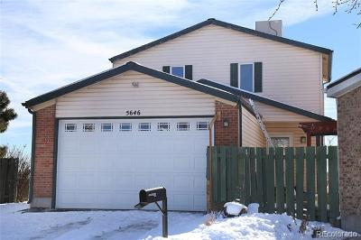 Arvada Single Family Home Active: 5646 West 71st Place