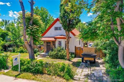 Denver Residential Lots & Land Active: 4225 Mariposa Street