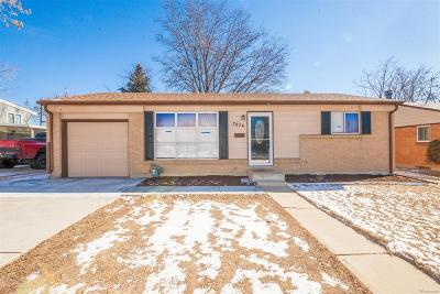 Denver Single Family Home Active: 7934 Wyandot Street
