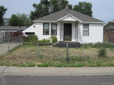 Denver Single Family Home Active: 379 South Raleigh Street