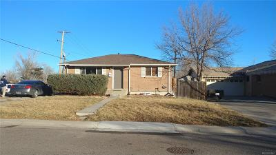 Denver Single Family Home Under Contract: 7998 Durango Street