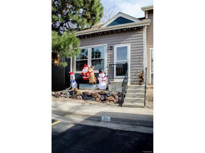 Northglenn Condo/Townhouse Under Contract: 11554 Community Center Drive #32