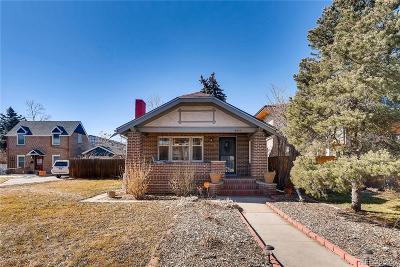 Denver Single Family Home Active: 2385 Grape Street