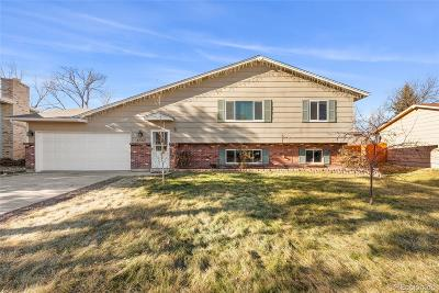 Littleton Single Family Home Under Contract: 4545 South Garland Way
