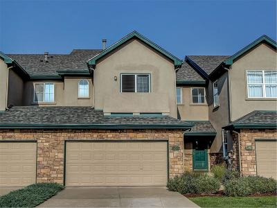 Castle Rock CO Condo/Townhouse Under Contract: $325,000
