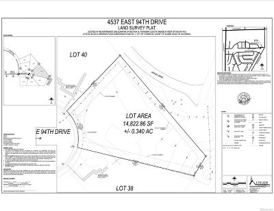 Adams County Residential Lots & Land Active: 4537 East 94th Drive