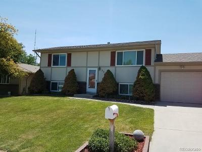 Greeley Single Family Home Under Contract: 3354 19th Street Drive